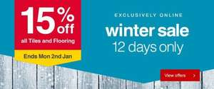 15% off All* Tiles and Flooring @ Wickes