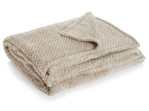 Waffle Throw Mink or Brown ~ £7.50 @ Wilko (Free C&C)
