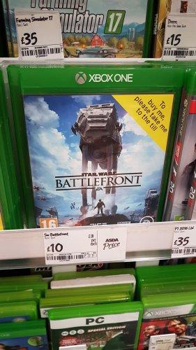 Star Wars Battlefront - Xbox One £10 Asda instore