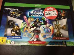Skylanders Imaginators Starter Pack Xbox One £16.99 in store at Asda (red ticket item)