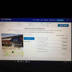 travelodge £29 a night selected dates now on