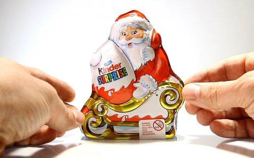 Santa kinder surprise 59p, 2-4 a £1 @ Heron