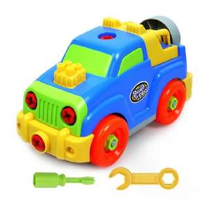 [Lightning Deal] YIXIN build-n-play assemble disassemble building jeep toy for £9.56 @ Amazon (free delivery for Prime members or on orders over £20)