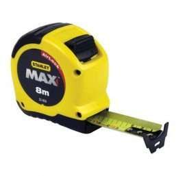 stanley max tape measure 8m £6.26 / £9.21 delivered @ Buyaparcel