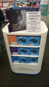 Now TV box and 1 years entertainment pack £25 @ Currys in-store