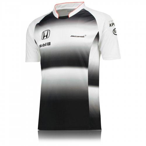 2016 McLaren Honda Mens T-shirt - Black - £7.50 delivered @ McLaren Ebay