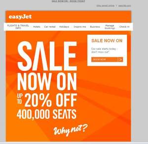 Easyjet Flight Sale