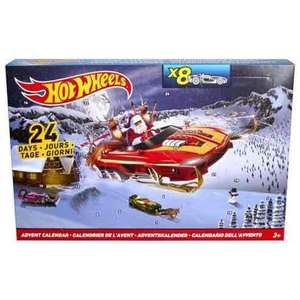 Hot wheels advent calendars reduced £5 Tesco Llanelli