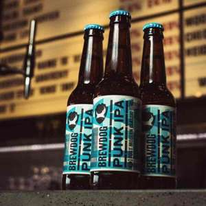brew dog punk IPA 660ml £2.49 Asda