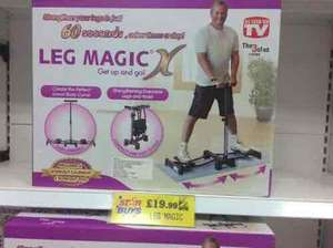 Leg Magic Fitness Machine £19.99 (RRP £79.99) @ Home Bargains