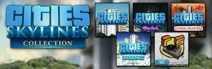 Cities: Skylines Collection £25.69 @ Steam