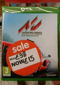 Assetto Corsa xbox one £15 in store at Asda