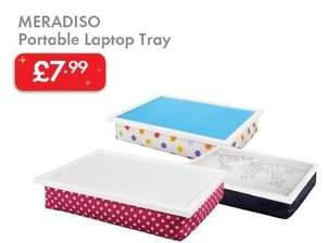 LAPTOP Tray - Portable - With Soft Padded Cushion - £7.99 - LIDL (Meradiso)