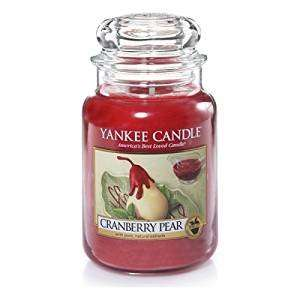 Large Yankee Candle Cranberry Pear Jar - Now £13.76 (Prime) on Amazon