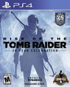 Rise of the tomb raider £21.99 on PSN