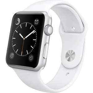 Apple watch 38mm refurbished with 12 months warranty £125.99 @ Handtec
