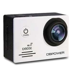 DBPOWER EX5000 2.0inch WIFI 14MP 1080P FHD Action Camera £16.99 Prime £21.74 non prime Sold by dvtecheu and Fulfilled by Amazon