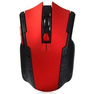 2.4GHz Wireless Gaming Optical Mouse £3.11 delivered at Gearbest