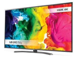 "LG 55UH661V LED HDR 4K Ultra HD Smart TV, 55"" With Freeview HD/Freesat HD now £599 delivered at John Lewis (5 YRS GUARANTEE)"