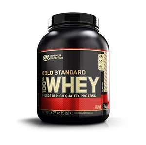 Optimum Gold Standard Whey 2.2Kg Rocky Road £25.00 @ Amazon