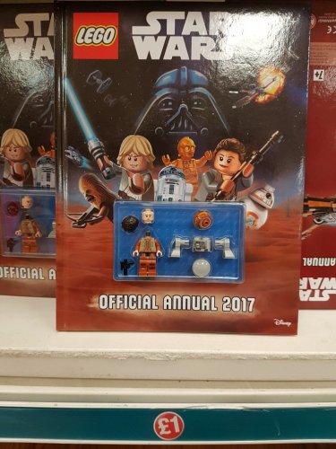 Lego Star Wars 2017 Annual £1 @ Poundland