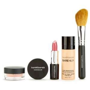 BareMinerals Discover BareSkin Try Me Collection (Was £24) Now £19.68 delivered at Look Fantastic