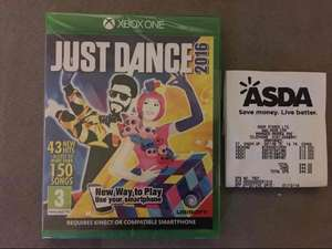 Just Dance 2016 Xbox One instore @ ASDA (Harpurhey, Manchester branch) - £10