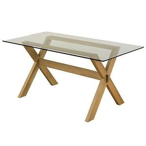 John Lewis Gene Rectangular 6-Seater Dining Table £199