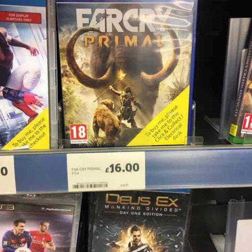 Far Cry Primal - £16 @ Tesco Direct