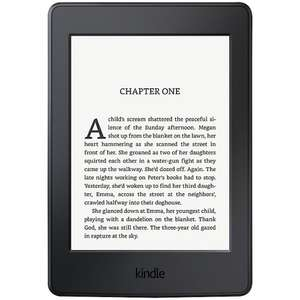 "Amazon Kindle Paperwhite eReader, 6""High Resolution Illuminated Touch Screen, Wi-Fi, With Special Offers, Black"