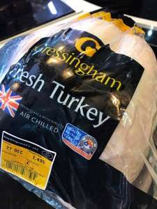 Gressingham Turkey 3-3.5kg + 2 free trays of sausages at Premier Meats North East