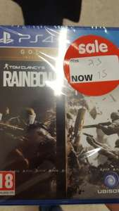 Rainbow Six Siege Gold Edition PS4 £15 @ Asda