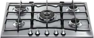 Hotpoint GC751TX 5 Burner Stainless Steel Gas Hob £150 + £10 Delivery @ B&Q