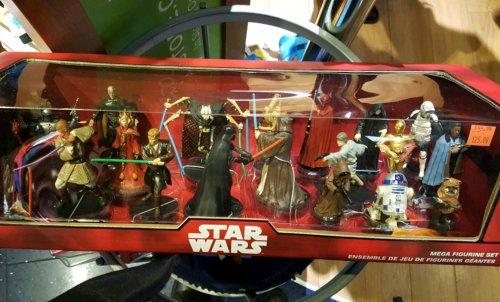 Star Wars Mega Figurine Set was £45 now £25 (instore only) @ Disney Store