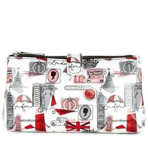 Lulu Guinness make up bag less than half price, was £45 now £18