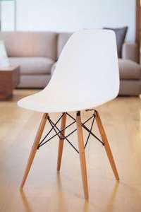 Set of 4 White Chairs - £59.99 and Free delivery pandnhomewares.co.uk/