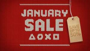 BIGGEST EVER! Playstation store January sale ps4 and vita, and vr!
