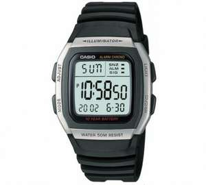 Casio Men's Digital LCD Watch 1/2 PRICE £9.99 WAS £19.99 2 YEAR GUARANTEE ARGOS (FREE DELIVERY)