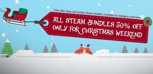 All Steam bundles 50% off for Xmas weekend @ Indie Gala