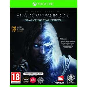Shadow of Mordor GOTY Edition Xbox One £9.99 @ TheGameCollection