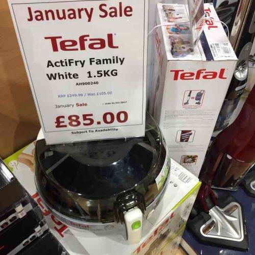 Tefal Actifry Family Air Fryer 1.5kg £85 @ McArthur Glen - Bridgend Designer Outlet