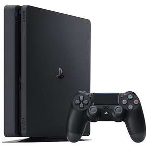 Sony PlayStation 4 Slim 500GB Console with Uncharted 4 and free FIFA 17 @JohnLewis