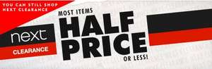 NEXT 'Boxing Day' ONLINE SALE STARTS TODAY @ 3PM - SALE ITEMS HALF PRICE OR LESS!