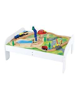 Sale now live - Big city lifting bridge railway table was £100 now £35, moses basket was £50 now £25 more in post @ Mothercare