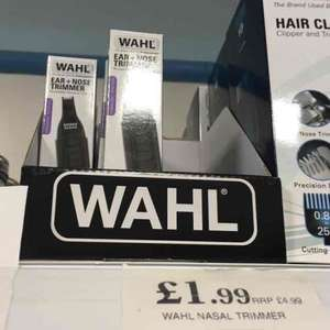 ideal Xmas present for a hairy relative (Wahl ear and nose trimmer shaver) £1.99 at home bargains