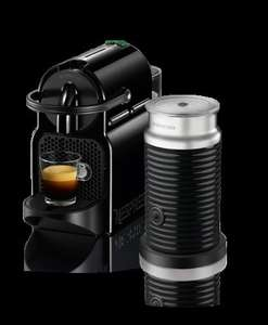 NESPRESSO Inissia Coffee Machine & Aeroccino - Various Colours £69.99 (Eligible for £75 Club Reward) - Currys