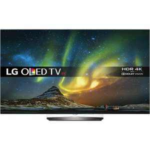 "LG OLED65B6V 65"" Freeview HD and Freesat HD and Freeview Play Smart 4K Ultra HD with HDR OLED TV for £2909 with code (possibly £2589 with TCB) @ AO.com"