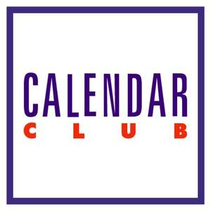 Calendar Club 40% off SALE and FREE delivery code T1029