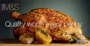 All turkeys and breast joints half price at marks Spencer's