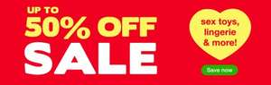 Clearance Sale @ LoveHoney + 20% off a spend £40 + Free Delivery on a £30 spend  + 21% TCB or 20% Quidco